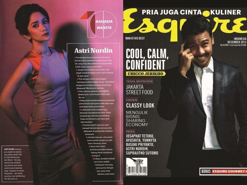 Esquire Astri Nurdin Busana by Allegra Jane