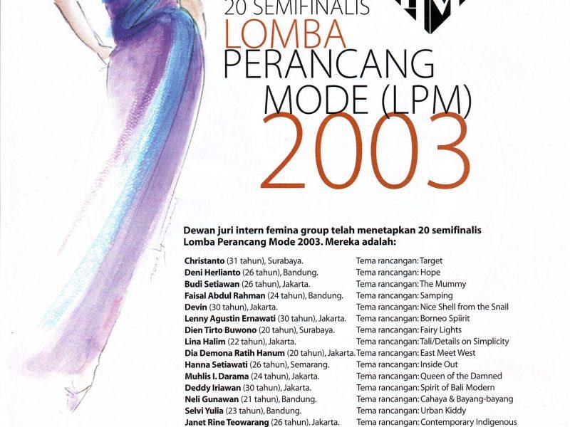 LPM Femina 2003