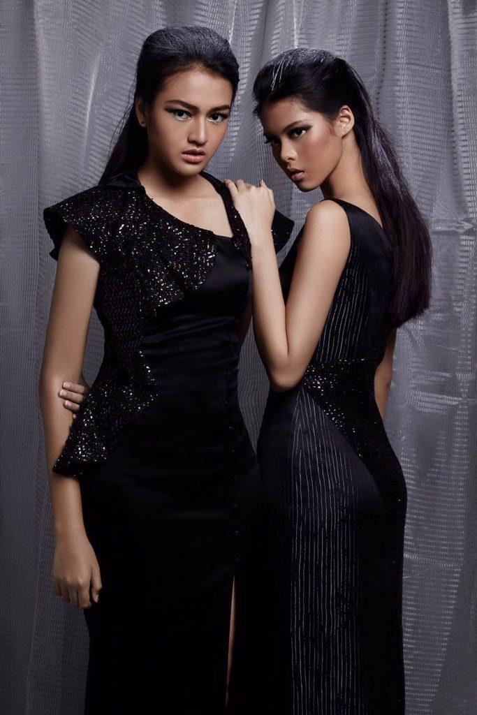 black-long-dresses